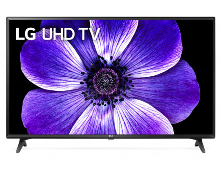 Телевизор LG 49 LED UHD IPS. Smart TV (webOS) Звук (2 Вт (2x10 Вт)) 3xHDMI 2xUSB 1xRJ-45 Черный 49UM7020PLF.