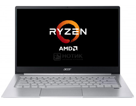 Ноутбук Acer Swift 3 SF314-42-R4RZ (14.00 IPS (LED)/ Ryzen 5 4500U 2300MHz/ 8192Mb/ SSD / AMD Radeon Graphics 64Mb) MS Windows 10 Home (64-bit) [NX.HSEER.00K] фото