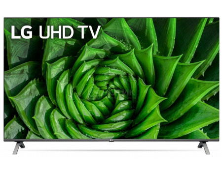 Телевизор LG 55 LED, UHD, IPS. Smart TV (webOS), Звук (20 Вт (2x10 Вт)), 4xHDMI, 2xUSB, 1xRJ-45, Серый (Титан), 55UN80006LA фото