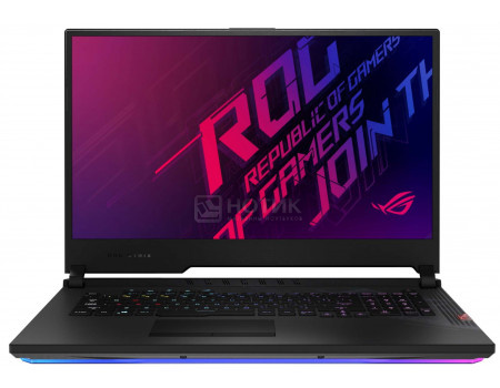 Ноутбук ASUS ROG Strix SCAR 17 G732LWS-HG081T (17.30 IPS (LED)/ Core i7 10875H 2300MHz/ 32768Mb/ SSD / NVIDIA GeForce® RTX 2070 Super 8192Mb) MS Windows 10 Home (64-bit) [90NR03D2-M02080]