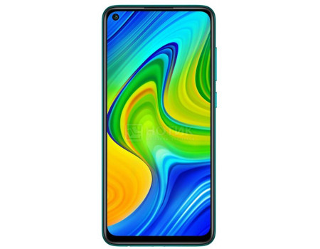 """Смартфон Xiaomi Redmi Note 9 3/64Gb (NFC) Forest Green (Android 10.0/Helio G85 2000MHz/6.53"""" 2340x1080/3072Mb/64Gb/4G LTE ) [27983]"""