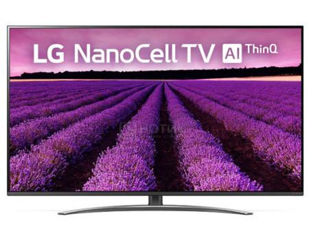 Телевизор LG 65 LED, UHD, IPS. Smart TV (webOS), Звук (20 Вт (2x10 Вт)), 4xHDMI, 2xUSB, 1xRJ-45, Серый (Титан), 65SM8200PLA