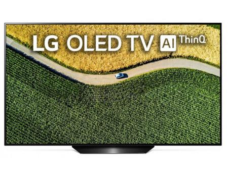 Телевизор LG 65 OLED, UHD, Smart TV (webOS), Звук (40 Вт (2x10 Вт) + 20Вт Саб), 4xHDMI, 3xUSB, Черный/Серебристый OLED65B9PLA
