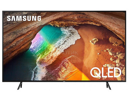 Телевизор Samsung 75 UHD, QLED, Smart TV, Звук (20 Вт (2x10 Вт), 3xHDMI, 2xUSB, 1xRJ-45, PQI 3000, Черный QE75Q60TAUXRU