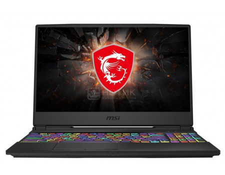 Ноутбук MSI GL65 10SDK-405XRU Leopard (15.60 LED (IPS - level)/ Core i7 10750H 2600MHz/ 16384Mb/ HDD+SSD 1000Gb/ NVIDIA GeForce® GTX 1660Ti 6144Mb) Free DOS [9S7-16U722-405]