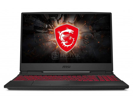 Ноутбук MSI GL65 10SCSR-050RU Leopard (15.60 LED (IPS - level)/ Core i5 10300H 2500MHz/ 8192Mb/ SSD / NVIDIA GeForce® GTX 1650Ti 4096Mb) MS Windows 10 Home (64-bit) [9S7-16U822-050]