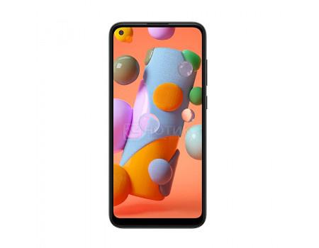 "Смартфон Samsung Galaxy A11 SM-A115F Black (Android 10.0/SDM450 1800MHz/6.40"" 1520x720/2048Mb/32Gb/4G LTE ) [SM-A115FZKNSER]"