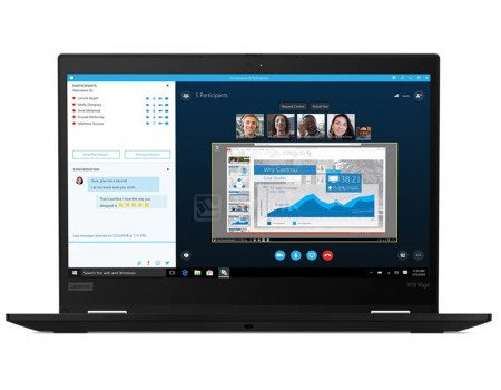 Ноутбук Lenovo ThinkPad X13 Yoga (13.30 IPS (LED)/ Core i5 10210U 1600MHz/ 8192Mb/ SSD / Intel UHD Graphics 64Mb) MS Windows 10 Professional (64-bit) [20SX0001RT]