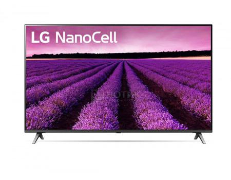 Телевизор LG 65 LED UHD IPS Smart TV (webOS) Звук (20 Вт (2x10 Вт)) 4xHDMI 2xUSB 1xRJ-45 Черный 65SM8050PLC.