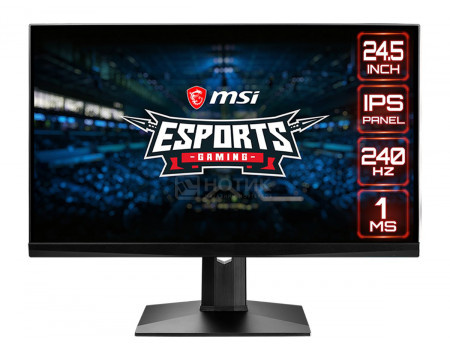 "Монитор 24.5"" MSI Optix MAG251RX, FHD, IPS, 2xHDMI, DP, 3xUSB 2.0, Черный 9S6-3BA37T-010"