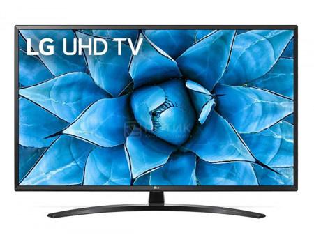 Телевизор LG 49 LED UHD IPS. Smart TV (webOS) Звук (20 Вт (2x10 Вт)) 3xHDMI 2xUSB 1xRJ-45 Черный 49UN74006LA.