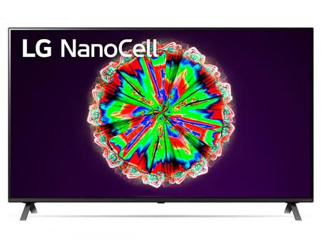 Телевизор LG 65 LED, UHD, IPS. Smart TV (webOS), Звук (20 Вт (2x10 Вт)), 4xHDMI, 2xUSB, 1xRJ-45, Черный, 65NANO806NA