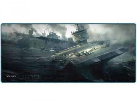 Коврик для мыши игровой Qumo Dead Navy, 800*350 мм, Рисунок 22483