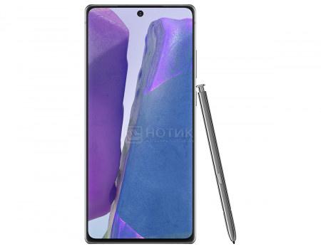 """Смартфон Samsung Galaxy Note20 256Gb SM-N980F Mystic Gray (Android 10.0/Exynos 990 2730MHz/6.70"""" 2400x1080/8192Mb/256Gb/4G LTE ) [SM-N980FZAGSER]"""