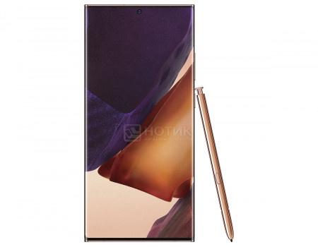 "Смартфон Samsung Galaxy Note20 Ultra 256Gb SM-N985F Mystic Bronze (Android 10.0/Exynos 990 2730MHz/6.90"" 3088х1440/8192Mb/256Gb/4G LTE ) [SM-N985FZNGSER]"