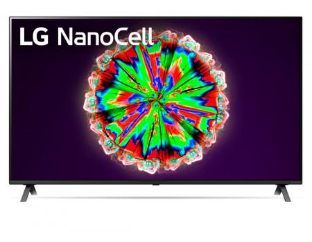 Телевизор LG 55 LED, UHD, IPS. Smart TV (webOS), Звук (20 Вт (2x10 Вт)), 4xHDMI, 2xUSB, 1xRJ-45, Темно-Серый, 55NANO806NA