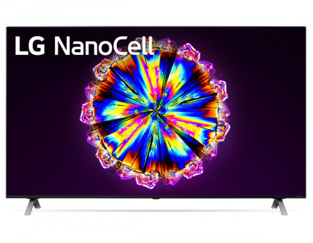 Телевизор LG 55 LED UHD IPS. Smart TV (webOS) Звук (20 Вт (2x10 Вт)) 4xHDMI 3xUSB 1xRJ-45 Темно-Серый 55NANO906NA.