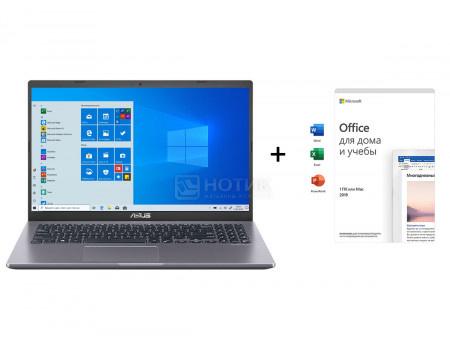 Ноутбук ASUS X545FA-BQ153T- (15.60 IPS (LED)/ Core i3 10110U 2100MHz/ 8192Mb/ SSD / Intel UHD Graphics 64Mb) MS Windows 10 Home (64-bit) [90NB0NN2-M02390-]