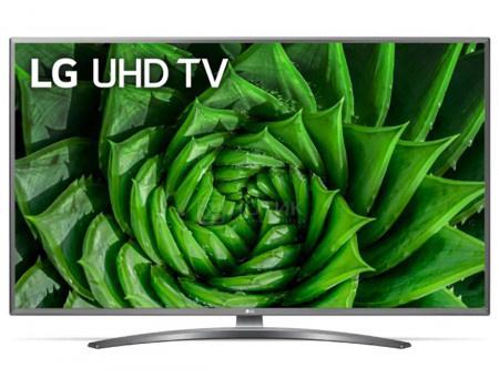 Телевизор LG 43 LED, UHD, IPS. Smart TV (webOS), Звук (20 Вт (2x10 Вт)), 4xHDMI, 2xUSB, 1xRJ-45, Серый (Титан), 43UN81006LB