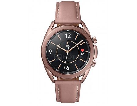 Смарт-часы Samsung Galaxy Watch3 41mm SM-R850N NFC GPS Wi-Fi. Bluetooth 247 мAч Бронзовый SM-R850NZDACIS.