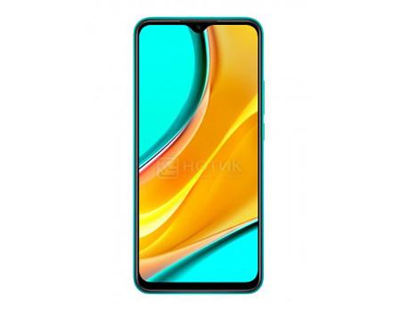 "Смартфон Xiaomi Redmi 9 3/32Gb (NFC) Ocean Green (Android 10.0/Helio G80 2000MHz/6.53"" 2340x1080/3072Mb/32Gb/4G LTE ) [28414]"