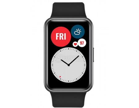 Смарт-часы Huawei Watch Fit Graphite Black Bluetooth 180 мАч Черный TIA-B09 1307660.