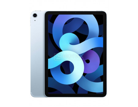 Планшет Apple iPad Air 10.9 2020 64Gb Wi-Fi + Cellular Sky Blue (iPadOS 14/A14 Bionic 2990MHz/10.90