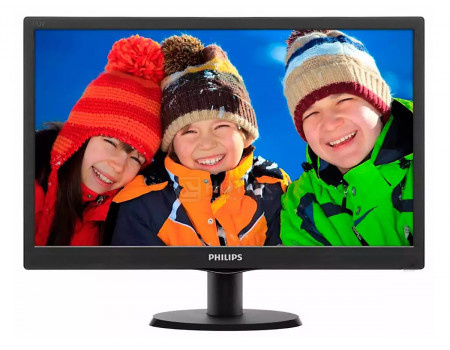 Монитор 185 Philips 193V5LSB2 WXGA TN VGA Черный 193V5LSB2/10.