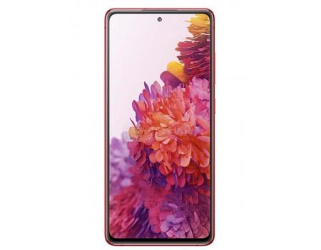 "Смартфон Samsung Galaxy S20 FE 128Gb SM-G780F Cloud Red (Android 10.0/Exynos 990 2730MHz/6.50"" 2400x1080/6144Mb/128Gb/4G LTE ) [SM-G780FZRMSER]"