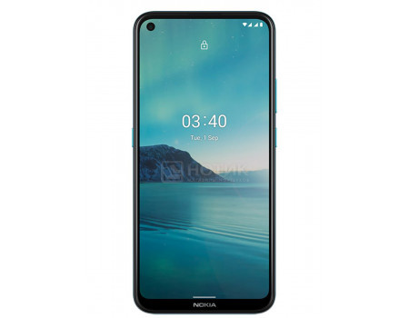 "Смартфон Nokia 3.4 3/64Gb Blue (Android 10.0/SDM460 1800MHz/6.39"" 1560x720/3072Mb/64Gb/4G LTE ) [HQ5020KD15000]"