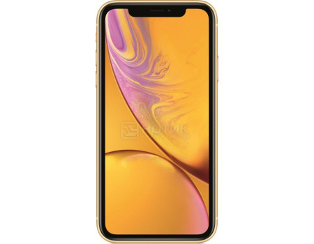 "Смартфон Apple iPhone XR 64Gb Yellow (iOS 14/A12 Bionic 2490MHz/6.10"" 1792x828/3072Mb/64Gb/4G LTE ) [MH6Q3RU/A]"