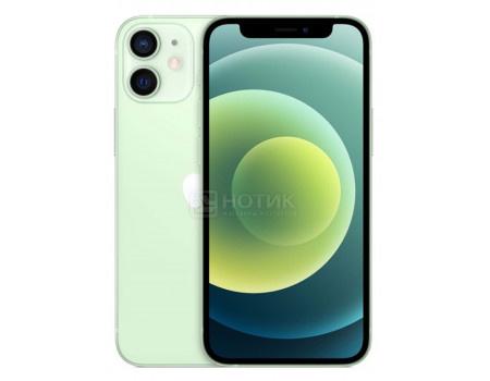 Смартфон Apple iPhone 12 mini 64Gb Green (iOS 14/A14 Bionic 2990MHz/5.40 2340x1080/4096Mb/64Gb/5G ) [MGE23RU/A].