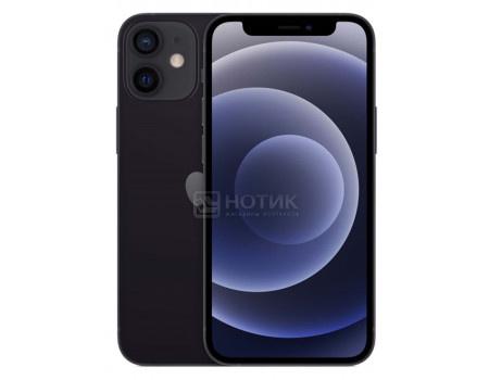Смартфон Apple iPhone 12 64Gb Black (iOS 14/A14 Bionic 2990MHz/6.10 2532x1170/4096Mb/64Gb/5G ) [MGJ53RU/A].