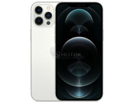 "Смартфон Apple iPhone 12 Pro Max 512Gb Silver (iOS 14/A14 Bionic 2990MHz/6.70"" 2778x1284/6144Mb/512Gb/5G ) [MGDH3RU/A]"