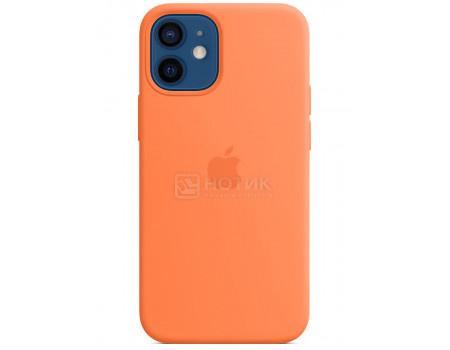 Чехол-накладка Apple Silicone Case with MagSafe Kumquat для iPhone 12 mini MHKN3ZE/A Силикон Оранжевый.