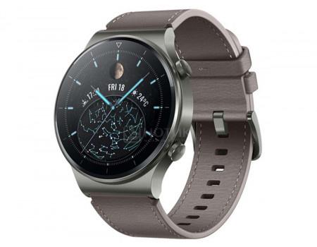 Смарт-часы Huawei Watch GT 2 Pro Nebula Gray Bluetooth 455 мАч Серый Vidar-B19V 55026317.