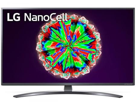Телевизор LG 55 LED, UHD, IPS. Smart TV (webOS), Звук (2x10 Вт), 4xHDMI, 2xUSB, 1xRJ-45, Темно-Серый, 55NANO796NF