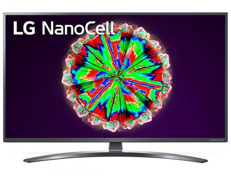 Телевизор LG 65 LED, UHD, IPS. Smart TV (webOS), Звук (2x10 Вт), 4xHDMI, 2xUSB, 1xRJ-45, Темно-Серый, 65NANO796NF