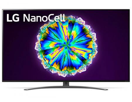 Телевизор LG 65 LED, UHD, IPS. Smart TV (webOS), Звук (2x10 Вт), 4xHDMI, 3xUSB, 1xRJ-45, Темно-Серый, 65NANO866NA