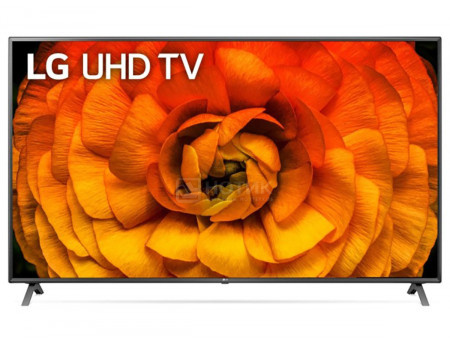 Телевизор LG 86 LED, UHD, IPS. Smart TV (webOS), Звук (2x10 Вт), 4xHDMI, 3xUSB, 1xRJ-45, Серебристый, 86UN85006LA