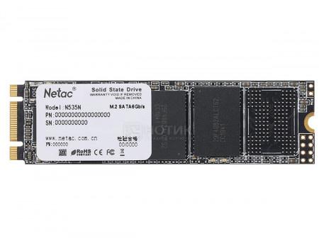 Внутренний SSD-накопитель Netac N535N 2TB M2 2280, SATA-III, 3D TLC, Черный NT01N535N-002T-N8X