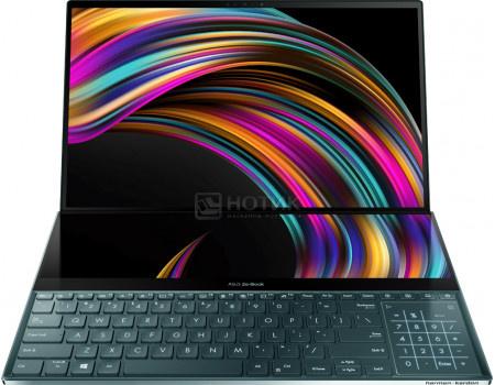 Ноутбук ASUS Zenbook Pro Duo UX581LV-H2014R (15.60 OLED/ Core i9 10980HK 2400MHz/ 32768Mb/ SSD / NVIDIA GeForce® RTX 2060 6144Mb) MS Windows 10 Professional (64-bit) [90NB0RQ1-M02360]