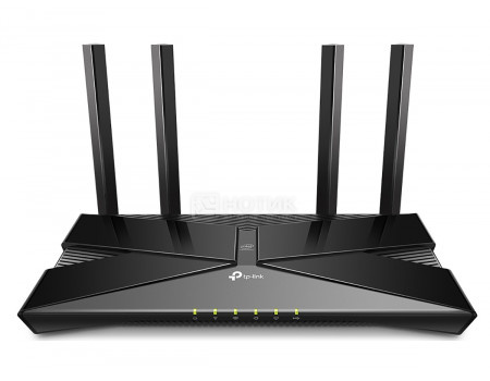 Маршрутизатор TP-Link Archer AX50 10/100/1000 1xWAN 4xLAN Wi-Fi 802.11ax до 574 Мбит/с (24 ГГц) 802.11ax до 2402 Мбит/с (5 ГГц) Черный ARCHER AX50.