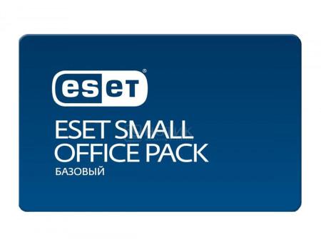 Электронная лицензия ESET Small Office Pack Базовый - 3 устройства на 1 год NOD32-SOP-NS(KEY)-1-3