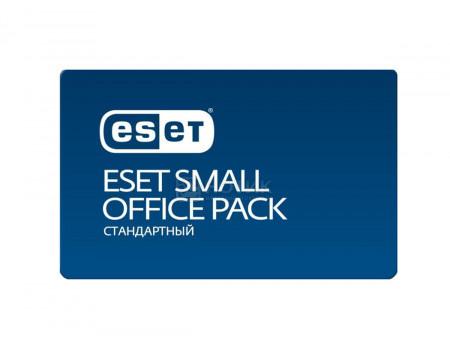 Электронная лицензия ESET Small Office Pack Стандартный - 3 устройства на 1 год NOD32-SOS-NS(KEY)-1-3