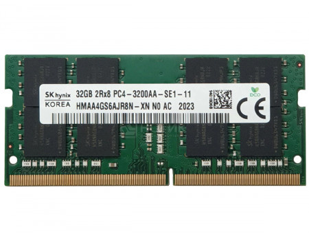 Модуль памяти Hynix SO-DIMM DDR4 32ГБ PC4-25600 3200MHz 1.2V CL22 260-pin HMAA4GS6AJR8N-XN.