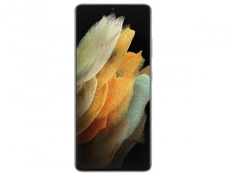 Смартфон Samsung Galaxy S21 Ultra 5G 256Gb SM-G998B Phantom Silver (Android 11.0/Exynos 2100 2900MHz/6.80