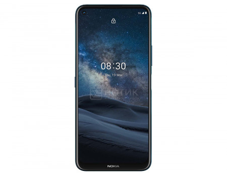 "Смартфон Nokia 8.3 5G 8/128Gb Polar Night (Android 10.0/SDM765G 2400MHz/6.81"" 2400x1080/8192Mb/128Gb/5G ) [HQ5020K316000]"