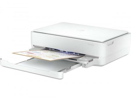 МФУ струйное цветное HP DeskJet Ink Advantage 6075, A4, 10/7 стр/мин, Wi-Fi, USB 2.0, Белый 5SE22C