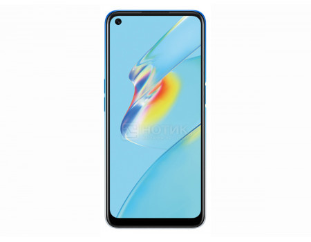 """Смартфон OPPO A54 4/128Gb Starry Blue (Android 10.0/Helio P35 2350MHz/6.51"""" 1600x720/4096Mb/128Gb/4G LTE ) [6944284687271]"""